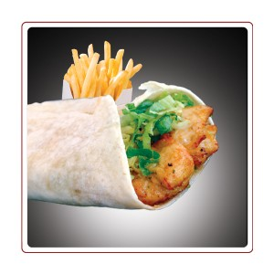 Chicken Lemon Wrap